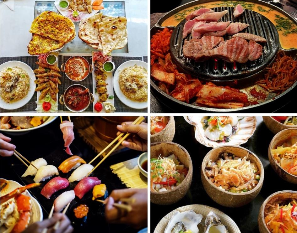 Shared food - culinaire reis - Indie, Korea, Japan, Filipijnen